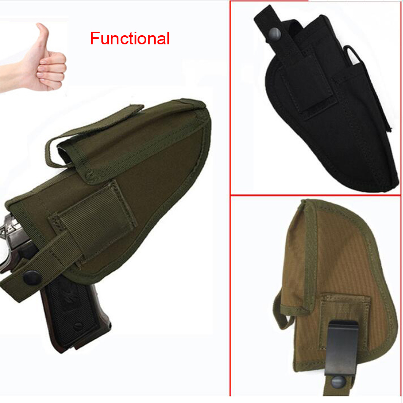 Outdoor Military Air Gun Tactical Holster Leather Holster Hunting Leather Case Air Gun Gun Bag Hunting Supplies All Size Pistols
