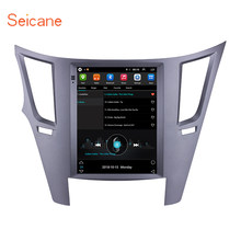 Seicane 9.7 Inch Android 9.1 Car Multimedia Player untuk 2010-2014 Subaru Outback Gps Navigasi 768*1024 HD layar Sentuh Stereo(China)