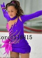 Roupas de Patinação No gelo Competição Meninas Roupas para Mulheres de Patinação No Gelo Figura Patinação Roupa Dos Miúdos Roupas De Patinação No Gelo do Artista