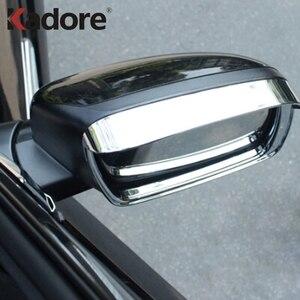 Для Dodge Journey Jcuv для Fiat Freemont 2013-2016 защитный козырек от солнца и дождя дефлектор отделка крышка зеркала боковой двери Украшение