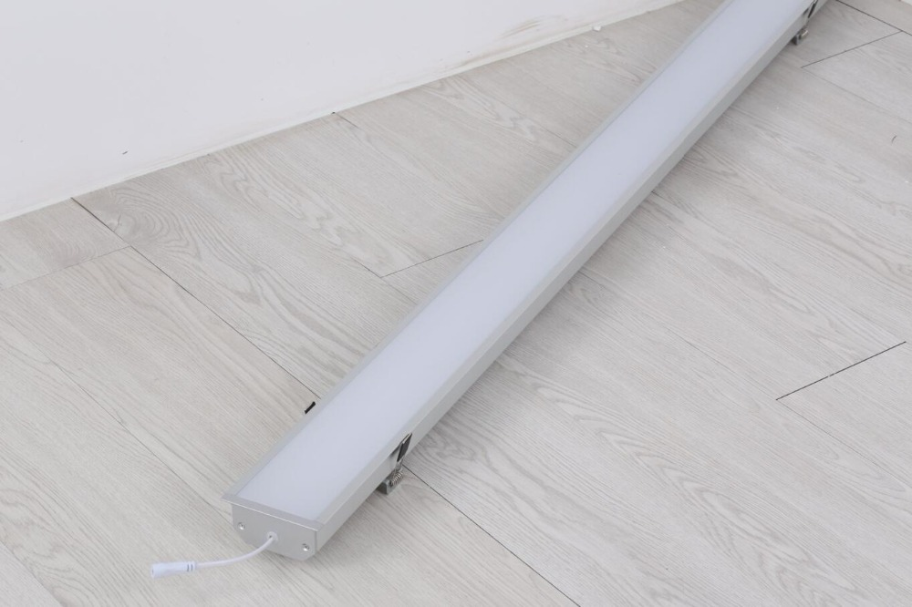 Free Shipping High quality 40W 50W LED linear high bay light CE Rohs certificate indoor lamps LED batten lighting fixture цена и фото