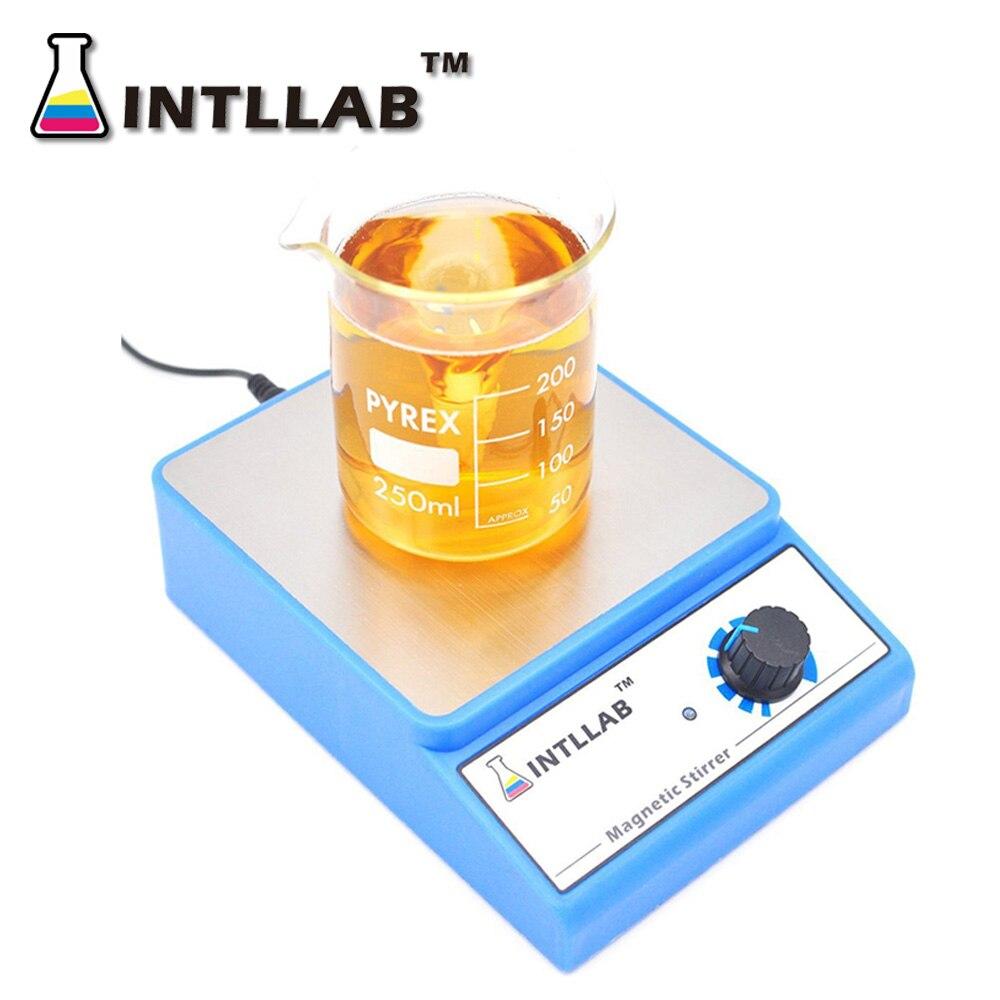 Agitateur magnétique mélangeur magnétique avec barre d'agitation 3000 tr/min capacité d'agitation maximale: 3000ml