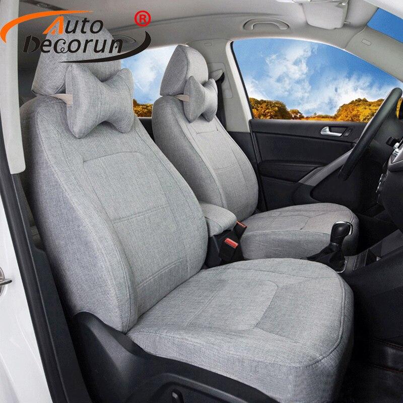 2000 Infiniti Qx Interior: AutoDecorun Flax Fabric Car Seat Cushions For Infiniti