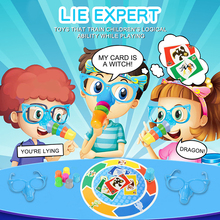 Toy Set Glasses Board-Game Gifts Stretch Kids Children Liar for Grow-Toy Hilarious Noses
