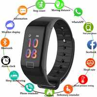 Sport Smart band armband Gesundheit Fitness Tracker Uhr Armband Herz Rate Monitor Smart Armband F1 Smartband Blutdruck