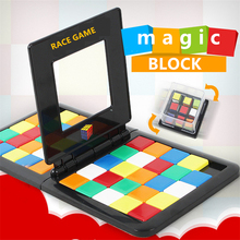 puzzle Cube 3D Puzzle Race Cube Board Game Kids Adults Education Toy Parent-Child Double Speed Game Magic block game Cubes cube ltd race 2013