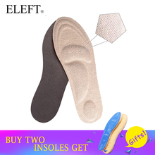 Фотография Feet care 4D towel sponge arch support insoles with towel material for sweat absorption for women shoes&high heels