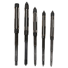 5 unids escariador de mano ajustable 6.25 – 6.75 6.75 – 7.25 7.25 – 7.75 7.75 – 8.5 8.5 – 9.25 HSS herramientas de mano