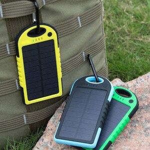 20000mAh Dual USB Solar Mobile