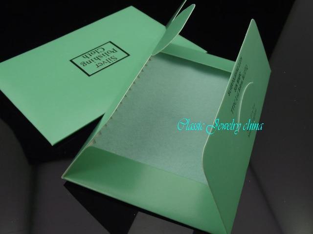 Wholesale - Flannelette Silver cleaning cloth silver polishing cloth 10x6cm 50PCS/lot MIX