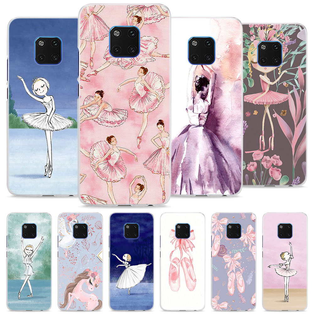 100% Kwaliteit Ballerina Dansen Meisje Case Cover Voor Huawei Mate 10 20 Lite Mate 10 20 Pro P20 Lite P Smart 2019 Hard Telefoon Case Meer Comfort Voor De Mensen In Hun Dagelijks Leven