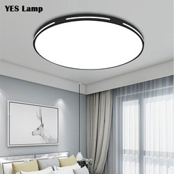 Modern LED Ceiling Lights dimmable Decoration Fixtures for Study Dining Room Bedroom Living Room Balcony Ceiling Lamp AC90-265V