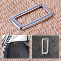 CITALL ABS Chrome Plated Interior Rear Trunk Hook Frame Cover Trim Fit For Mercedes Benz M