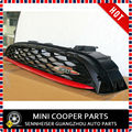 Brand New ABS Plastic and Origninal Part MINI JCW  Front Grill Trim w/Chilli Red mini cooper F56 (1 Pcs/ Set)