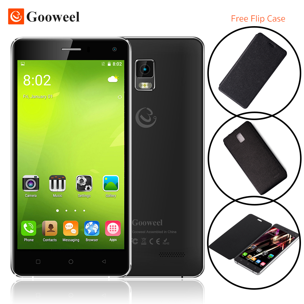 Gooweel M13 Plus 4G smart phone 5 0 HD screen Quad core android 5 1 mobile