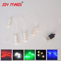 LED Building Block Accessory Toy 1pcs 6 Serial Light USB Power Compatible With Creator