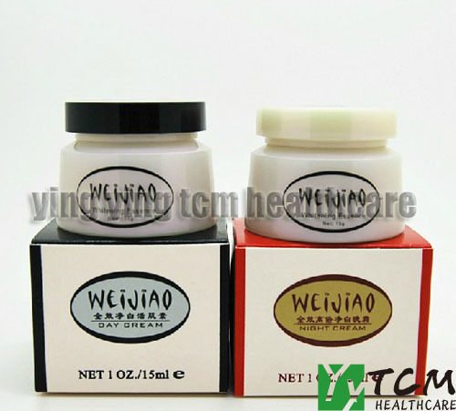 Wholesale and retail TaiWan WeiJiao Day Cream and Night Cream Set marxism and darwinism