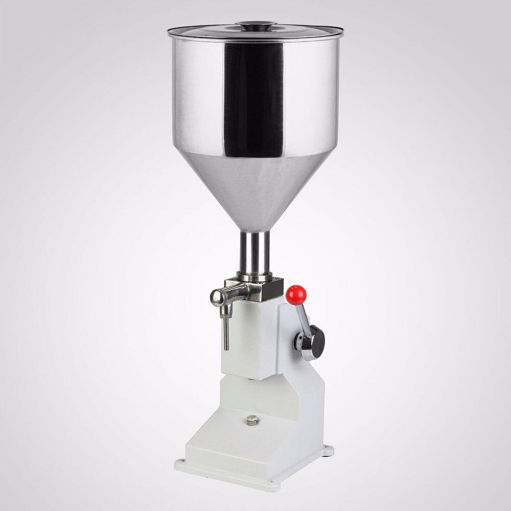 A03 Série 5 ~ 50 ml Manual de Máquina de Enchimento Líquido Adequado para o enchimento de baixa para alta-densidade de líquidos