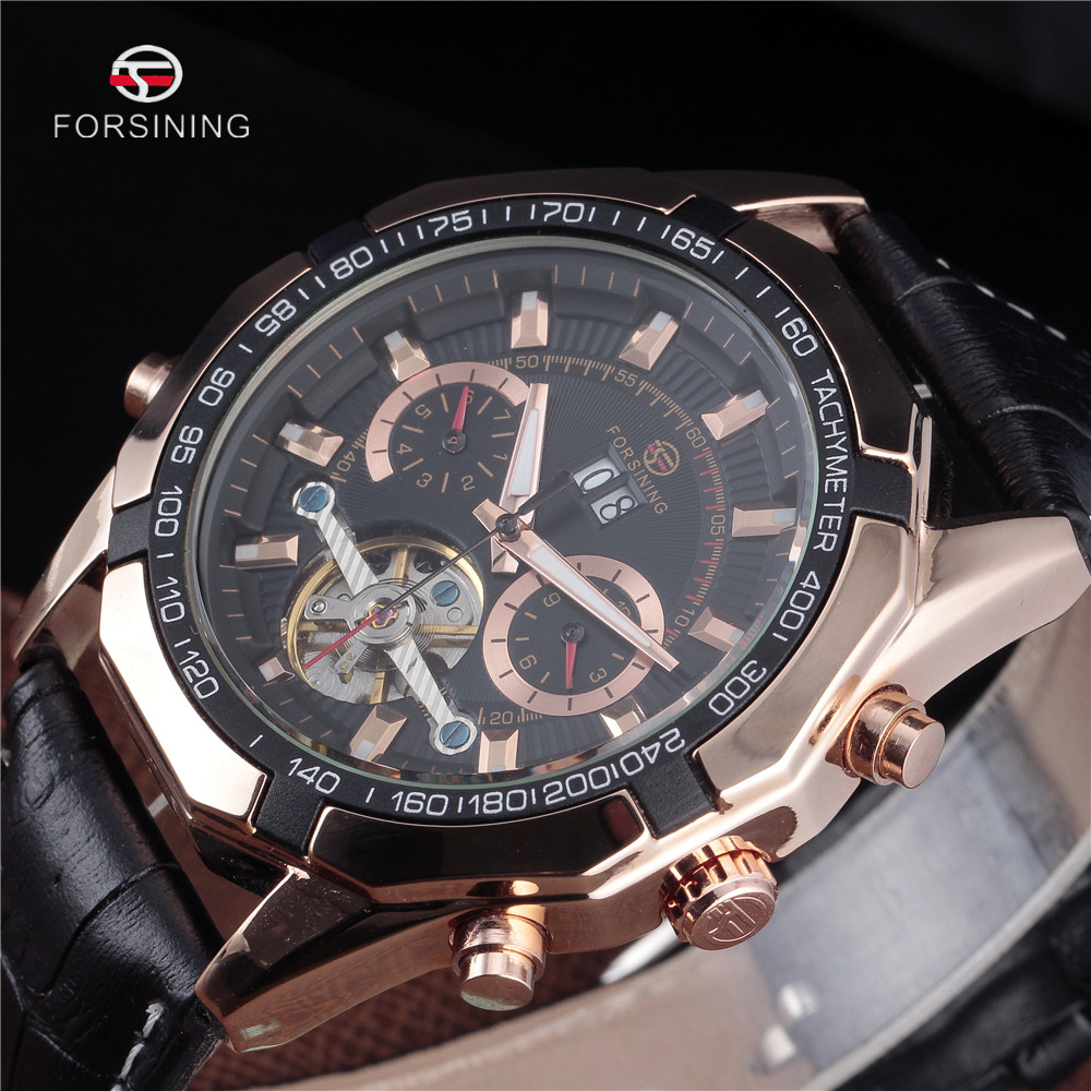 Relogio Masculino 2016 Forsining Mens Watches Top Luxury Brand Men Tourbillon Watch Automatic Mechanical Men Wrist Watch Relojes forsining men tourbillon automatic mechanical watch mens watches top brand luxury genuine leather wristwatch relogio masculino