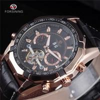 Relogio Masculino 2016 Forsining Mens Watches Top Luxury Brand Men Tourbillon Watch Automatic Mechanical Men Wrist