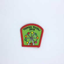 Embroidery chapter patch custom design