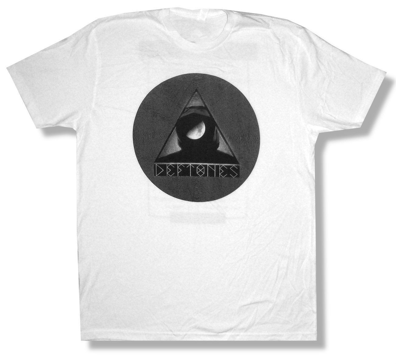 T shirt deftones white pony - Deftones Half Moon Photo Us Tour 2011 Soft White T Shirt