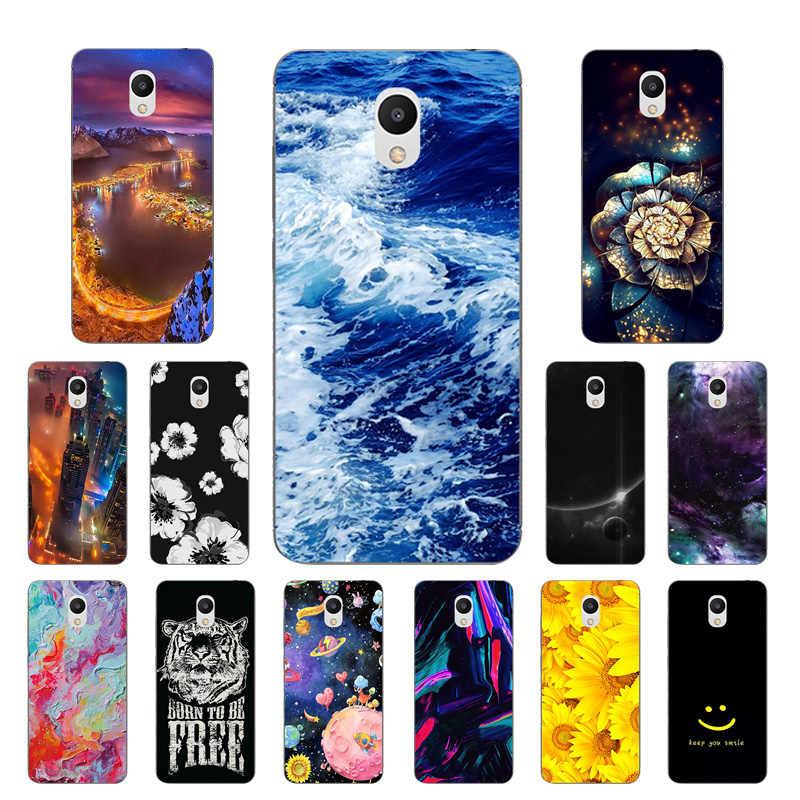 TPU Weichen Fällen Für Meizu M6 5,2 zoll Transparent Woge Druck Zeichnung Klar Silikon Telefon Fall Abdeckung Für Meizu M6 mini Capa