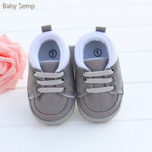 0-12 months baby boy infant first walkers 2017 new baby moccasin romirus gray color soft sole newborn shoes baby boy sport shoes