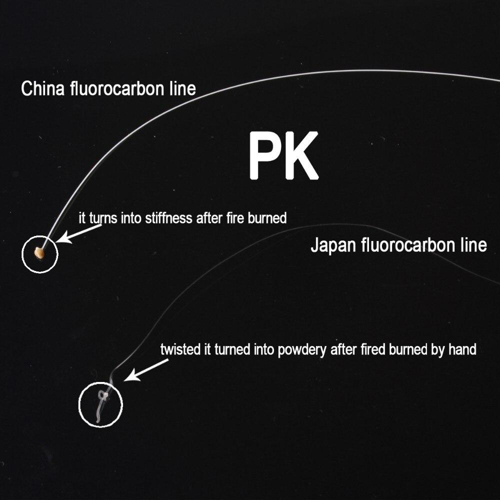 29lb 50m Material Líder Fluorcarbono Japonês Linha
