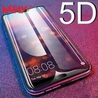 5D templado de vidrio para Huawei P20 Pro Lite P10 más P30 P40 amigo 20 Lite cristal Protector Honor 10 20 Pro Nova 5T película
