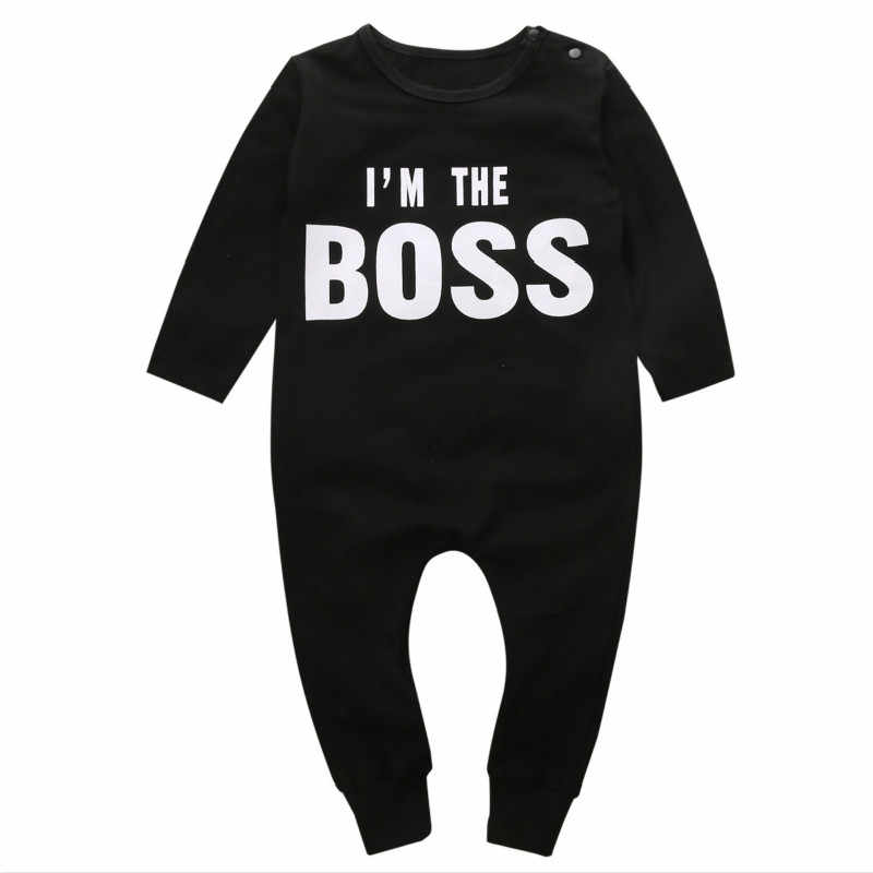 a4954bc72611 Detail Feedback Questions about Boss baby boys girls rompers long ...