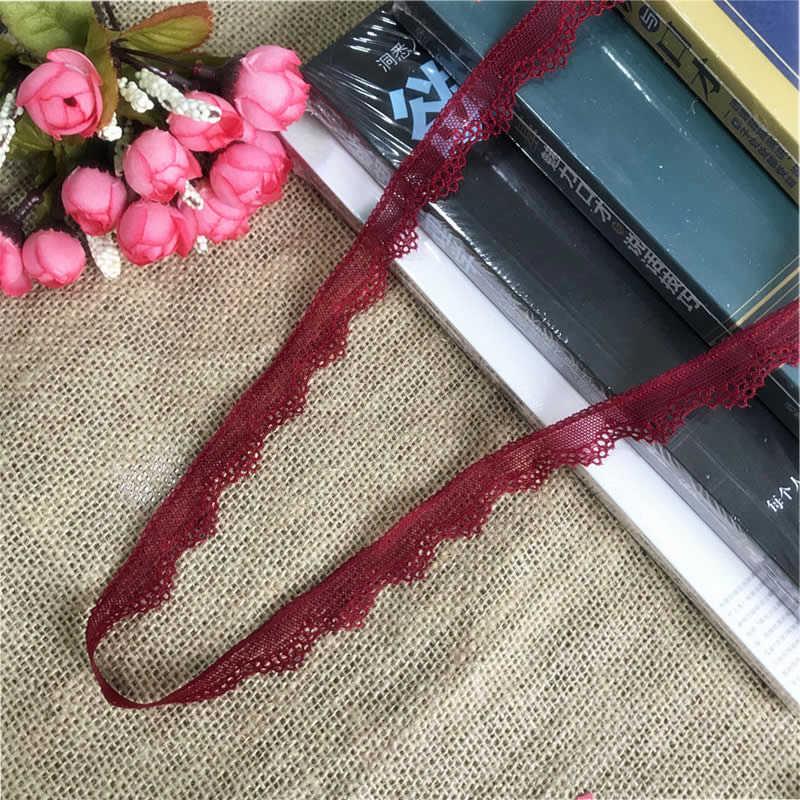 ! 1.5-2.2 centimetri S2073 bianco, rosso multi-colored pizzo decorativo del merletto di tessuto utilizzato per abito da sposa, di compleanno, rifornimenti Di Natale