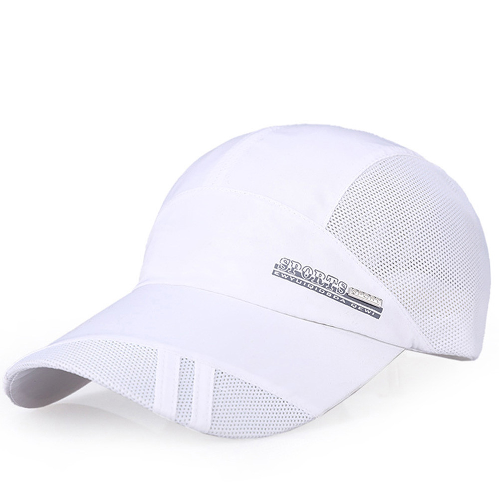 Chad Hope Truck Cap Color Blank Baseball Cap Breathable Nylon Mesh Summer Women Snapback Hats Adjustable Outdoor Net Cap