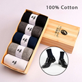 5 Pairs/Lot New Men socks classic business brand calcetines hombre socks men high quality 100% cotton casual socks wholesale