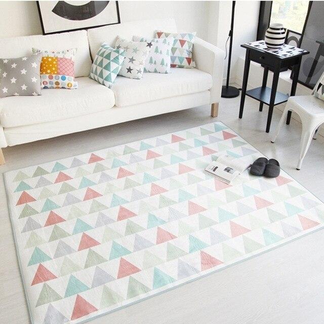 60 cm x 90 cm Geometrische Dreiecke Teppiche Teppich Wohnzimmer ...