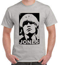 Tribute To Brian Jones Stone-Grey T-Shirt JaggerStreetwear Funny Print Clothing Hip-Tope Mans Tops Tees Fashion T-Shirts