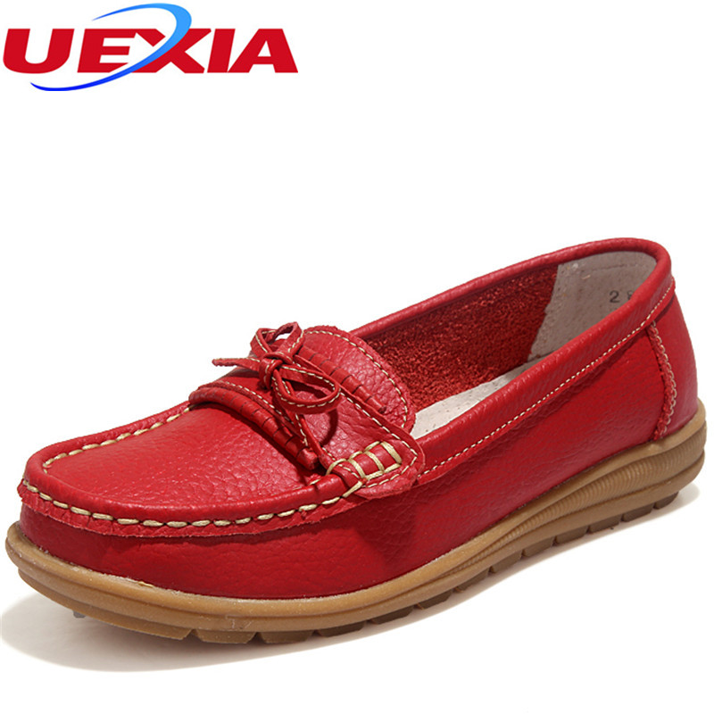 Women's Flats Shoes Slip On Loafers Fashion Casual Shoes Moccasins Female Footwear 2017 Moccasins Wear-resistant Anti-skid Sole