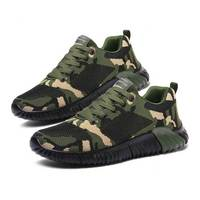 Camouflage Flying Mesh Shoes Men High quality Sneakers 2019 Spring Sport Runing Shoes For Sweethearts Zapatillas Hombre