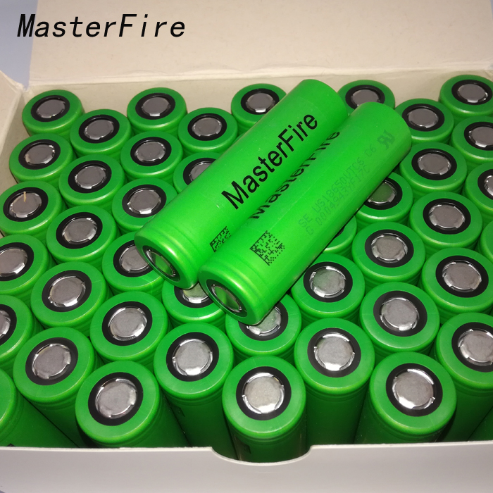 MasterFire Wholesale 100% Original VTC6 3.7V 3000mAh 18650 Li-ion Battery 30A Discharge For Sony US18650VTC6 Flashlight Tools new 10pcs vtc6 3 7v 3000mah rechargeable li ion battery 18650 for sony us18650vtc6 30a electronic cigarette toys tools flashligh