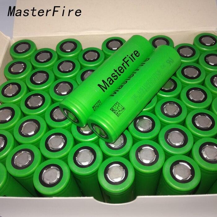 MasterFire vente en gros 100% Original VTC6 3.7 V 3000 mAh 18650 Li-ion batterie 30A décharge pour Sony US18650VTC6 outils de lampe de poche