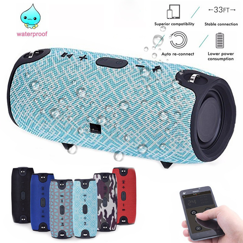 Outdoor New Bluetooth Speaker Portable Wireless Speakers Waterproof 20w stereo Music   surround for Smartphone Fm Radio TF MP3Outdoor New Bluetooth Speaker Portable Wireless Speakers Waterproof 20w stereo Music   surround for Smartphone Fm Radio TF MP3