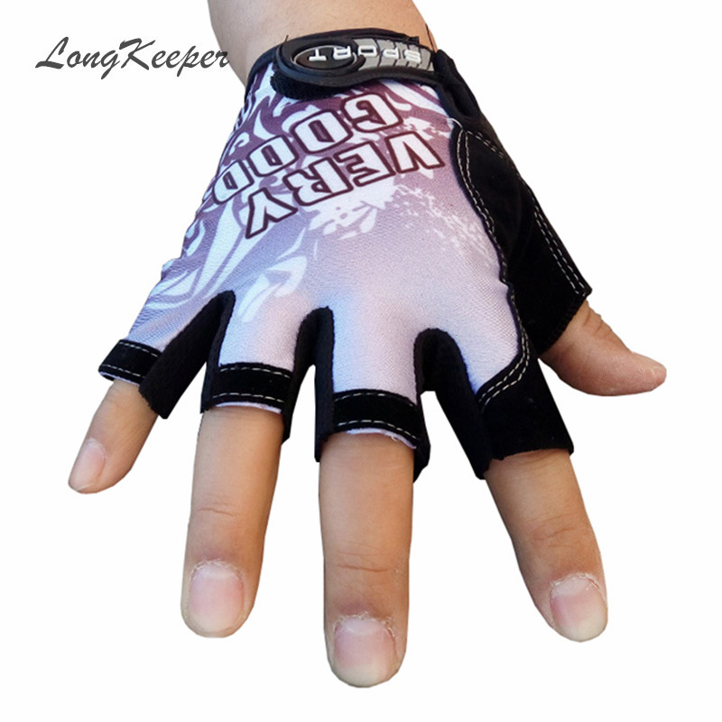 Gloves With Fingertips Out: LongKeeper Hot Sale Fingerless Gloves Women Men Letter