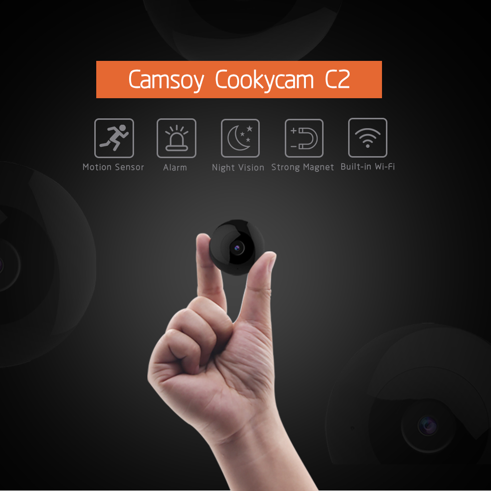 C2 미니 카메라 풀 HD 720P 카메라 IR Led 나이트 비전 DVR DV 내시경 카메라 마이크로 카메라 무선 캠