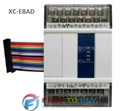 XC Series PLC I/O Expansion Analog Module XC-E8AD 14-bit High Accuracy Analog Input 8-channel Analog Input New omron plc terminal connectors are suitable for mitsubishi series q i o module with 1 m cable