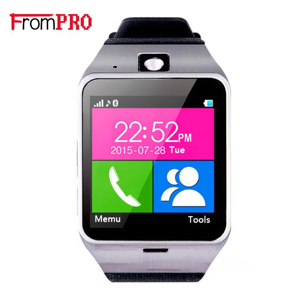 "imágenes para Reloj inteligente Aplus GV18 vida a prueba de agua Teléfono 1:55 ""NFC tarjeta SIM GSM cámara relojes SmartWatch para Android teléfonos Samsung iPhone7"