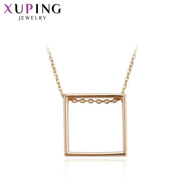 Xuping Jewelry Square Shape...