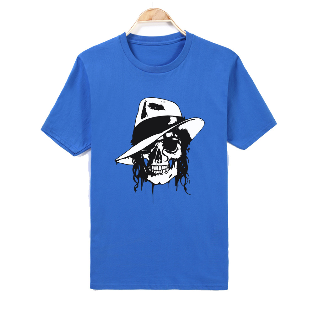 Men Women Print MJ Avata 100% Cotton T-shirt O-Neck Short sleeves Casual Produced To Commemorate Michael Jackson T Shirt XL XXL