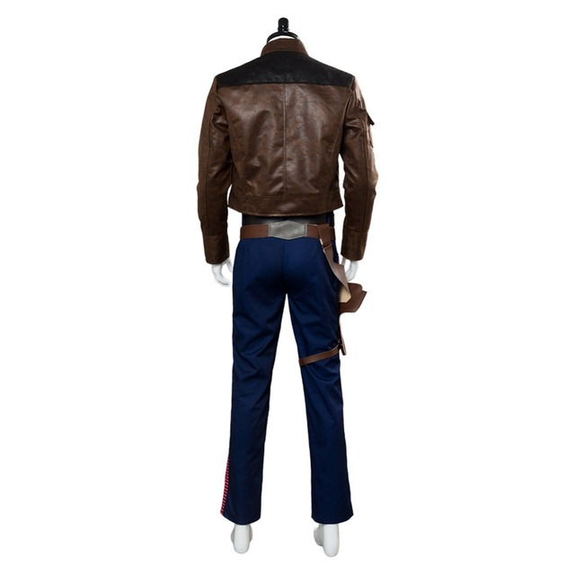 Solo: A Star Wars Story Han Solo Cosplay Costume Custom Made 5