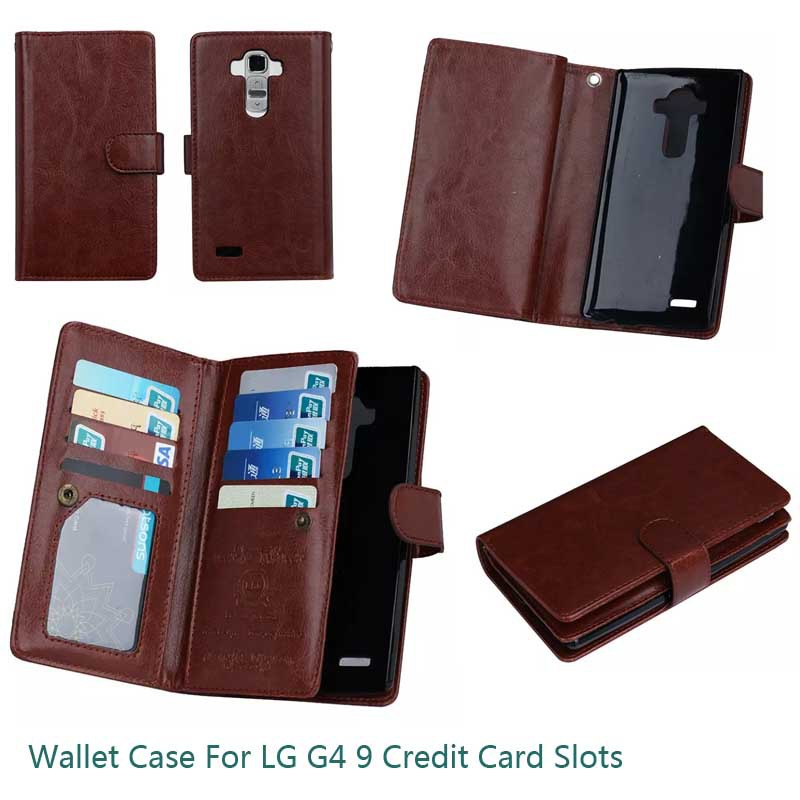 For LG G4 Wallet Cases 2 In 1 Multi Function Phone Bags For LG G5 G3