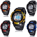 2015 Super Hot! 1PCS Boys Sport Watches LED Quartz Alarm Date Waterproof Digital Wristwatch for Cool Teenagers Promotional Gifts